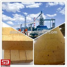 high alumina bricks used for roof of electric furnace for steelmaking