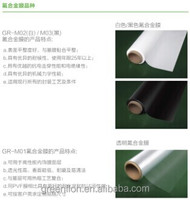 solar film backsheet high quality excellent SGS TUV ULcertification