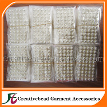 10mm ivory pearl peel off stickers for DIY card making