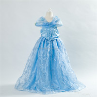 long latest cinderella dresses for girls