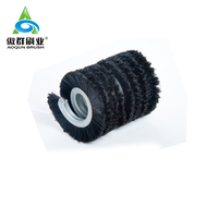 Cleaning Drill Brush High Quality Spiral Brush Nylon Roller Brush