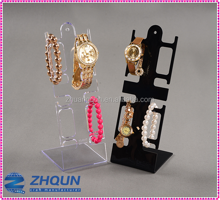 Competitive price Decoration Holder Display Shop Exhibition Cuff Pillow Watch Stand <strong>Acrylic</strong>