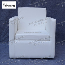 Foshan fashion style Modern bedroom Sofa hotel <strong>furniture</strong> with armrest YC - S03