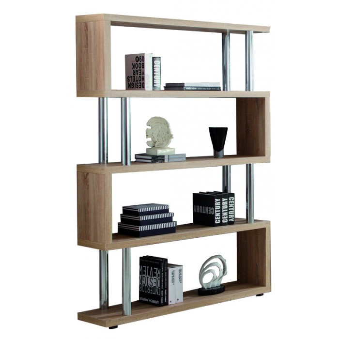 Hot Sale Display Rack Home Office MDF Bookcase Modern Simple Design Floor Stand Book Shelf