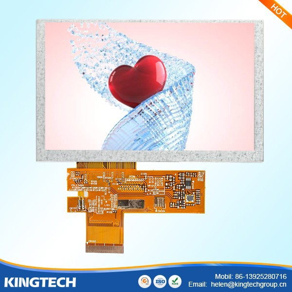 5 inch lcd panel makers 800*480
