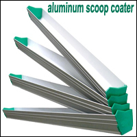 screen printing aluminum squeegee holder