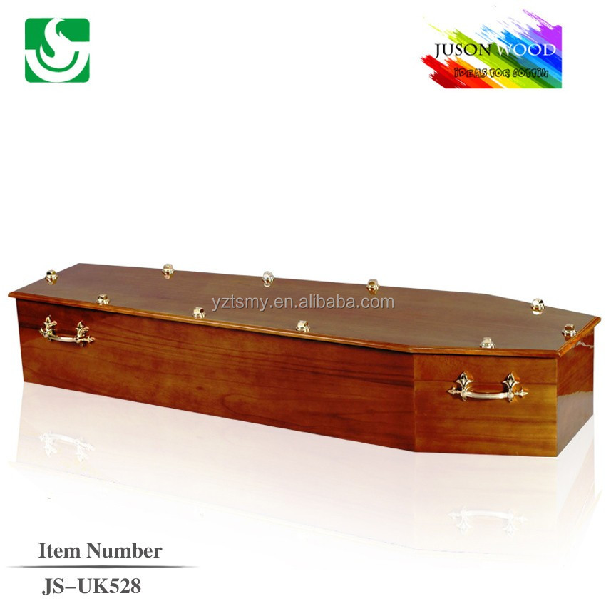 wholesale european mdf casket coffin