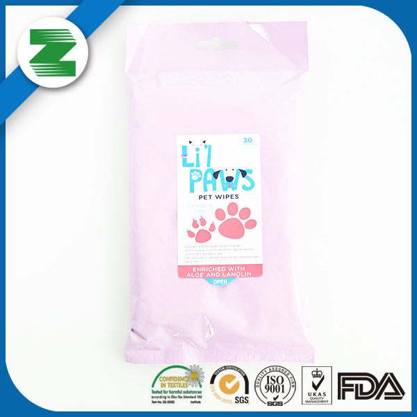 OEM wholesale pet wipes for dogs and cats