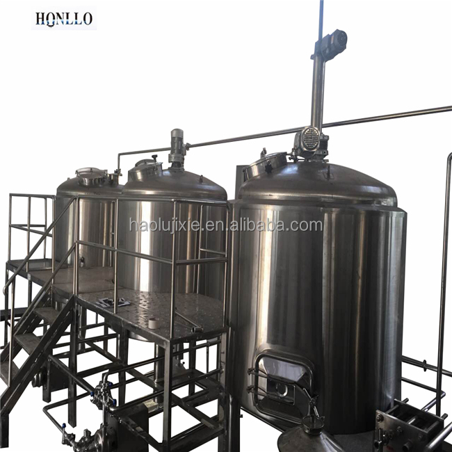 Craft Beer Fermentation Tank with Cooling Jacketed Micro Brewery Brewhouse 300L Draft Beer Equipment