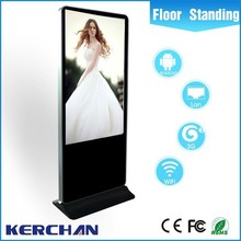 65 Inch indoor android wide touch sreen digital video media player lcd ad display screen for advertising