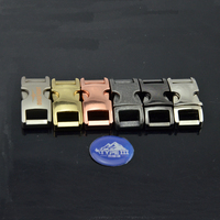 Metal side release buckle colored buckles for paracord bracelet wholesale alibaba