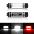 UY-Q7M Micro USB port 2600mA Battery Rechargeable SOS Red Emergency Light Waterproof LED Lights