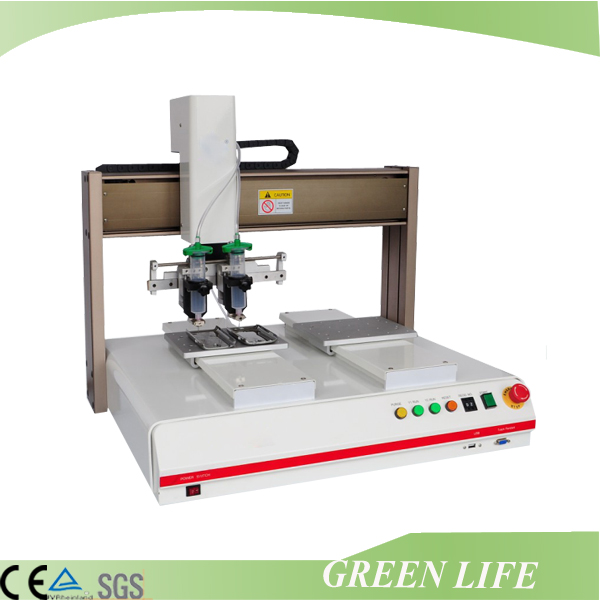 Desktop automaltic 3 axis glue dispenser for mobile phone circuit board