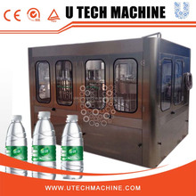U TECH Professional manufacture bottled drinking water processing machine /water bottling machine /water filling machine