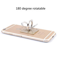 New Promotion Sticky Finger Ring Mobile Phone Holder 360 Degree Rotation Stand