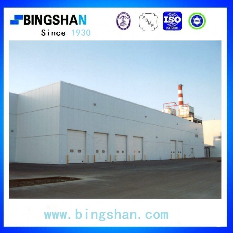China supply Bingshan brand 300MT Deep freezer fish cold room with condenser and evaporators
