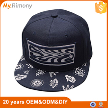 2016 Cool Summer Snapback Cap 100% Cotton Perfect Seam Embroidered Printed Custom