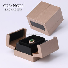 Top quality of luxury custom box with brand ring box