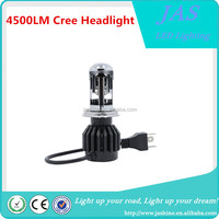 2016 New Design 4500LM h4 H13 9007 H14 High Low Beam LED Car Headlight