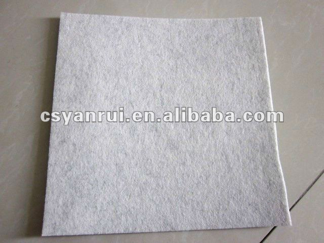 Needle Punched Nonwoven Felts , 50% Wool , 50% Polyester