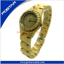 Hot Sell Wooden Watch for Ladies and Men Waterproof Watch