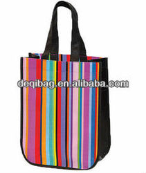 600d polyester canvas tote bag Wholesale casual style simple hand bag for women
