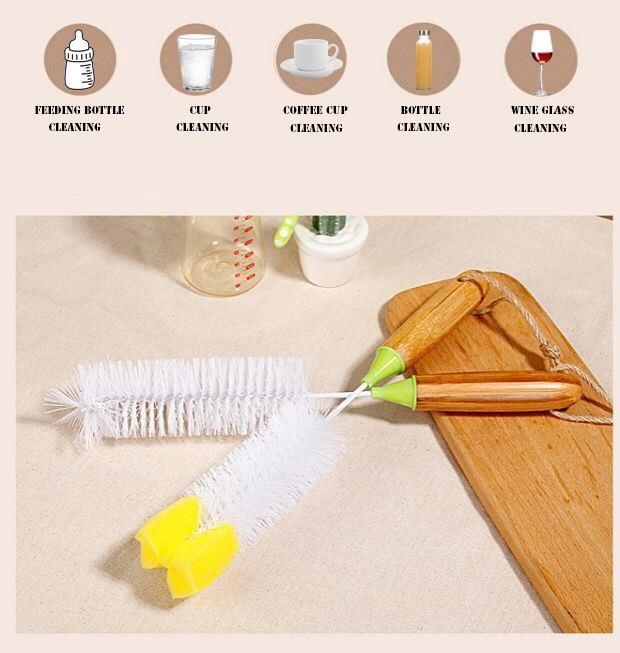 Produce Brush Scrubber Potato Cleaning Brush for cleaning potatoes, carrots, radishes and more