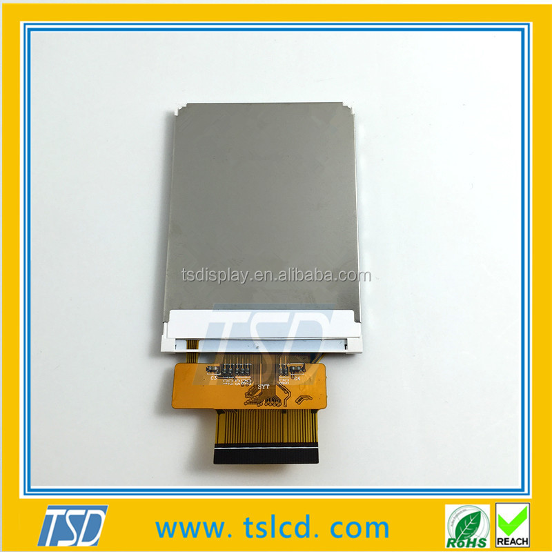 liquid crystal display module 2.4 inch tft small lcd zif fpc lcd type