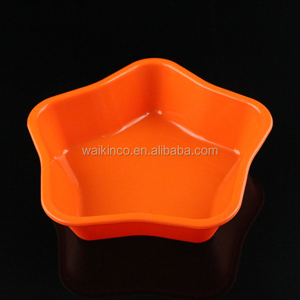 Stars Shape Silicone Cup Cake Mould Kitchen Decorating Tools DIY