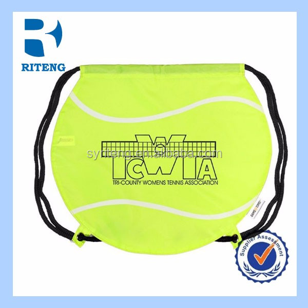 cheap polyester drawstring bag