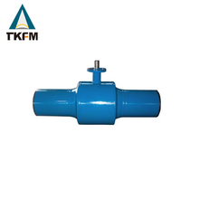 International standard shut off piston floating ss ball ptfe seated full welding 6 ball valve