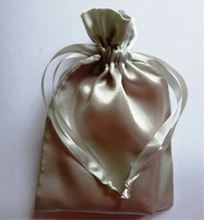 print cheap small satin net bags gift bags