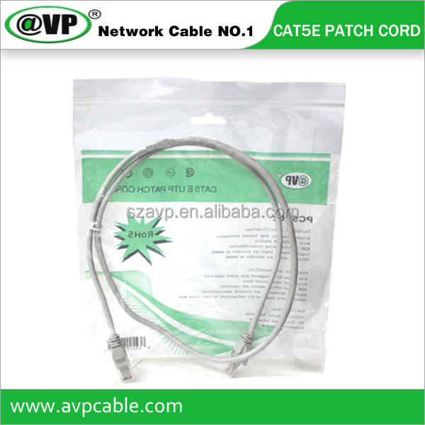Hot Sales Cat5e UTP Network Patch Cord Patch Cable
