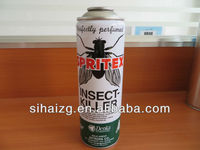 spray tinplate can for insect killer