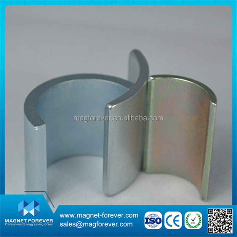 high performance arc neodymium motor magnet