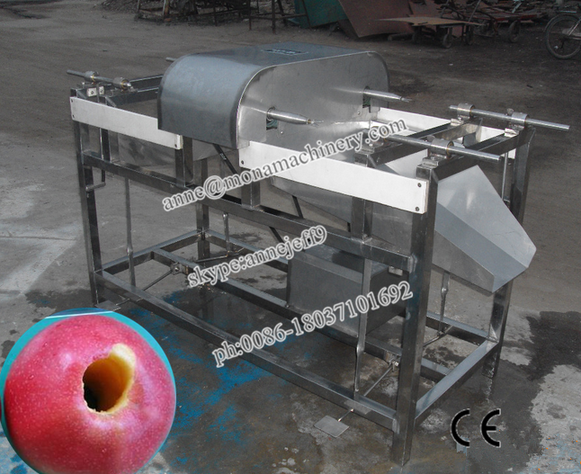 Safe Used Apple Core Remover/apple Cutter And Peeler/apple Cube Cutting Machine