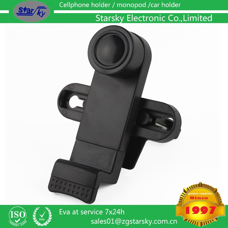 078B# Air vent cell phone holder air vent mount Universal Flexible Long Arm Windscreen Suction Car Mount Holder for Mobile Phone