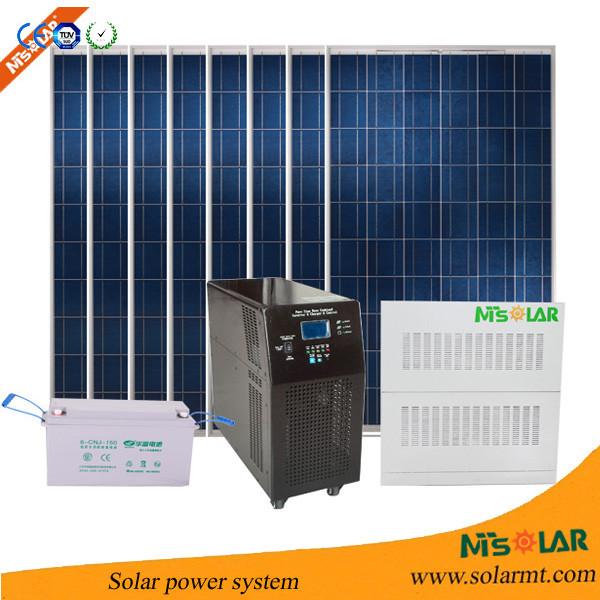2015 New Product 300w 20kw 10kw Solar Pv System Solar