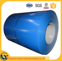 Prepainted GI steel coil / PPGI / PPGL color coated galvanized corrugated sheet