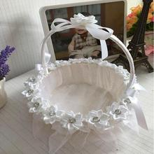 China cheap Chinese wedding basket lace basket