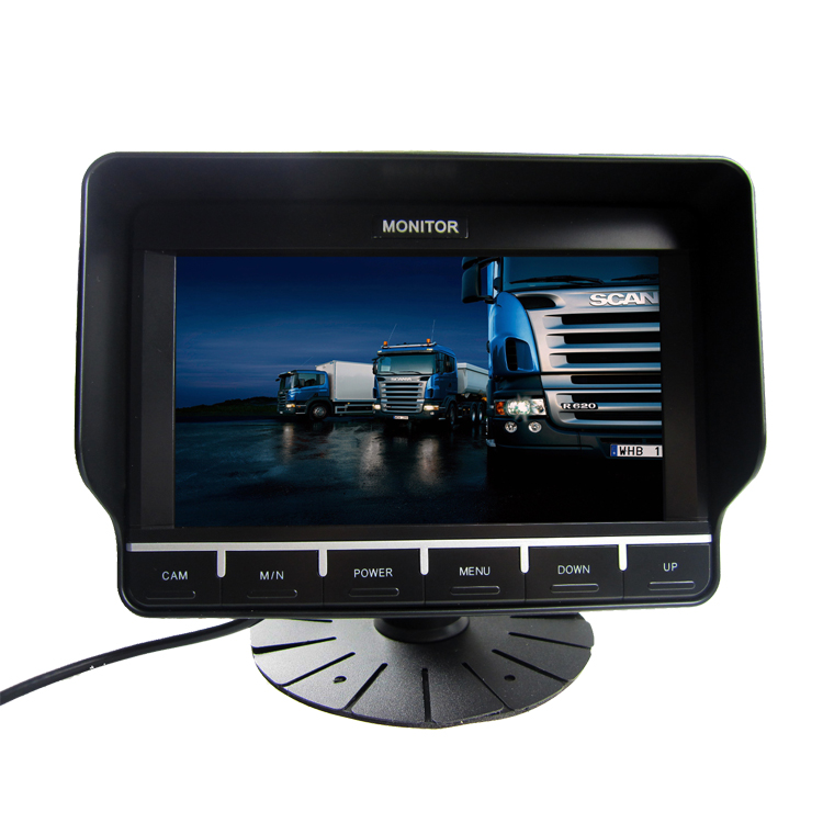 BRvision Rear View Touch Button Monitor 7 inches tv monitor for Truck reversing