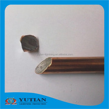 best price earthing material solid copper earthing bar