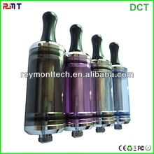 Wholesale 2013 shenzhen ruigu new products e-cigarette 3.5ml 6ml pyrex tube tank DCT X10 glass/metal atomizer