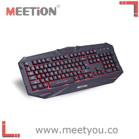 the latest and high end backlit gaming keyboard with USB connection keyboard