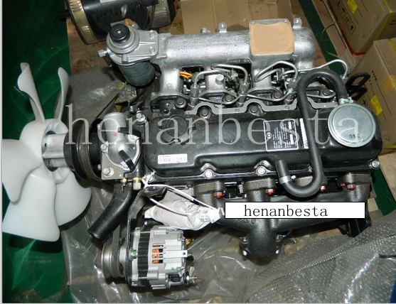 used TD27 4-Cylinder Diesel Engine for Sale