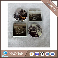 Ceramic fridge magnet for sublimation painting