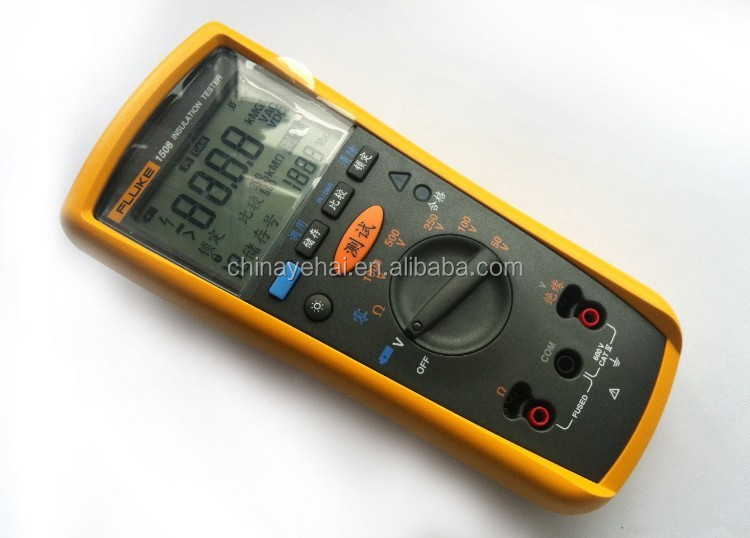 Geniune Fluke-1508 Digital Insulation Resistance Megger Low Price