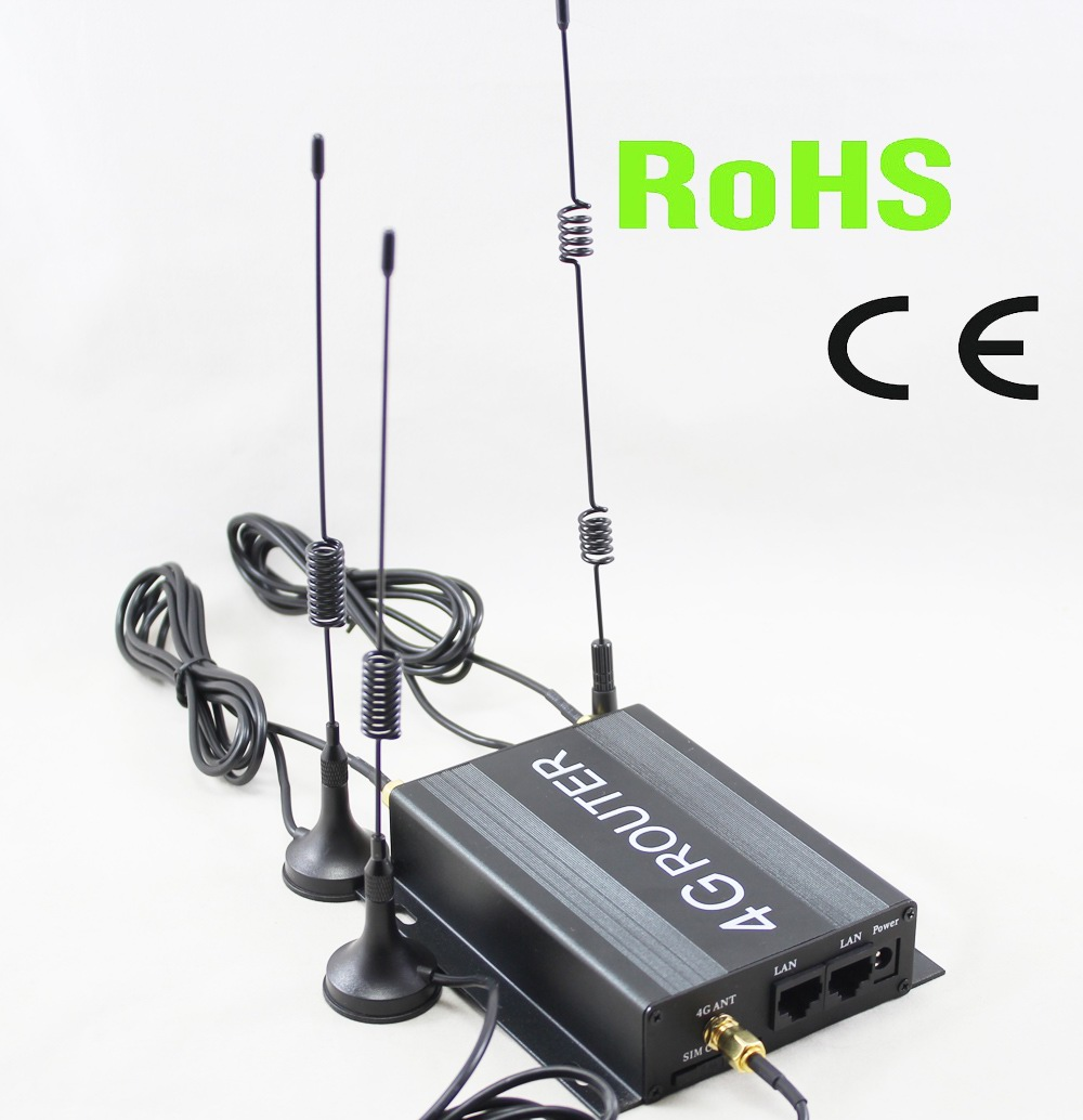 good quality low cost 12V 24V DC industrial lte 4g wifi router for buses