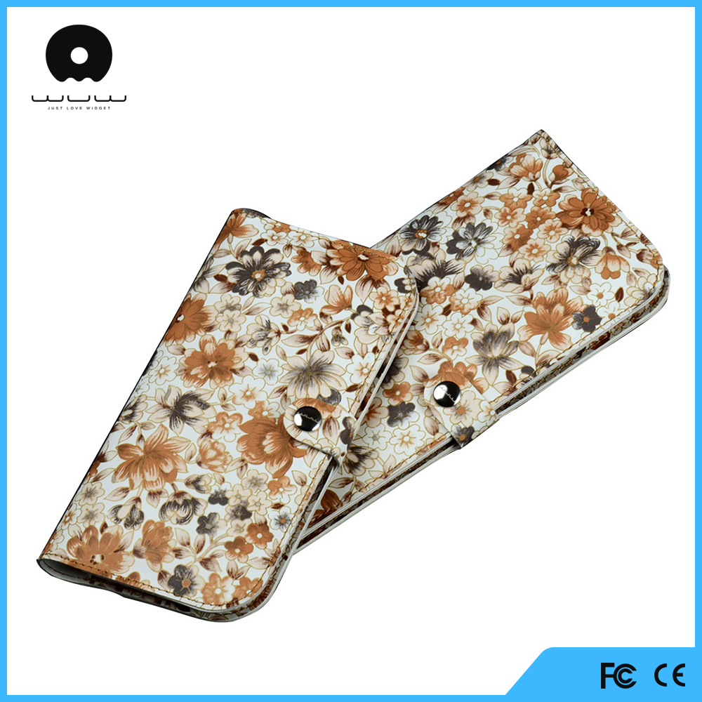 China wholesale flip leather case for alcatel one touch pop c5 phone cover with 12 months warranty