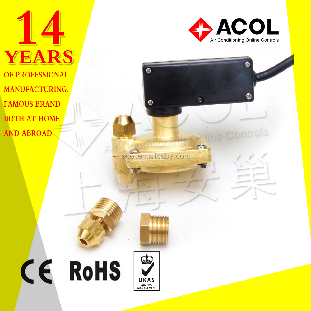 High quality brass water pressure reducing valve for floor heating